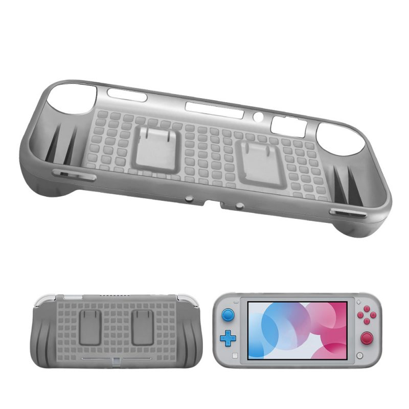 Nintendo-Switch-Lite-TPU-Case-with-2-game-card-slot