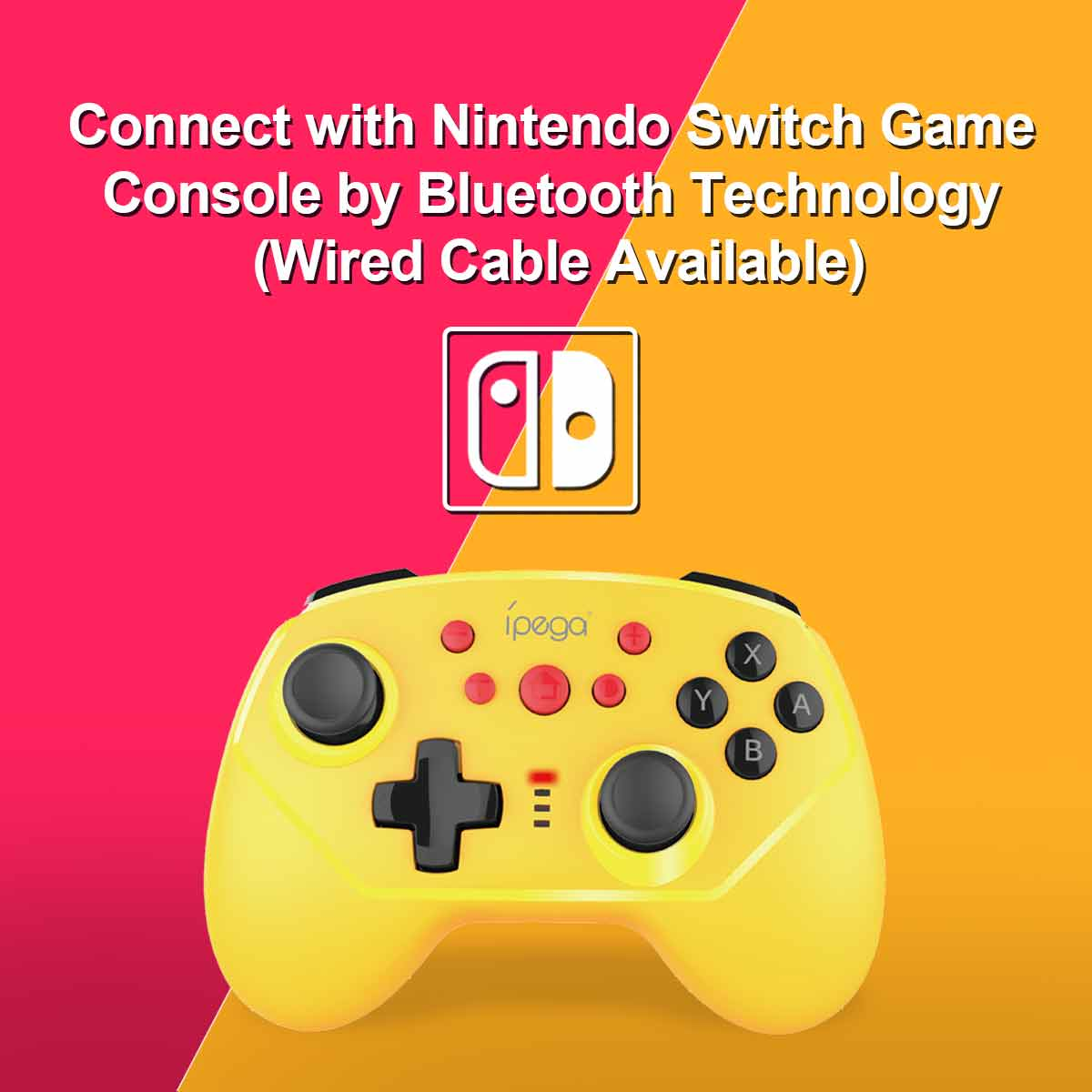gController 9162 Yellow Nintendo Switch Lite Gamepad New Color