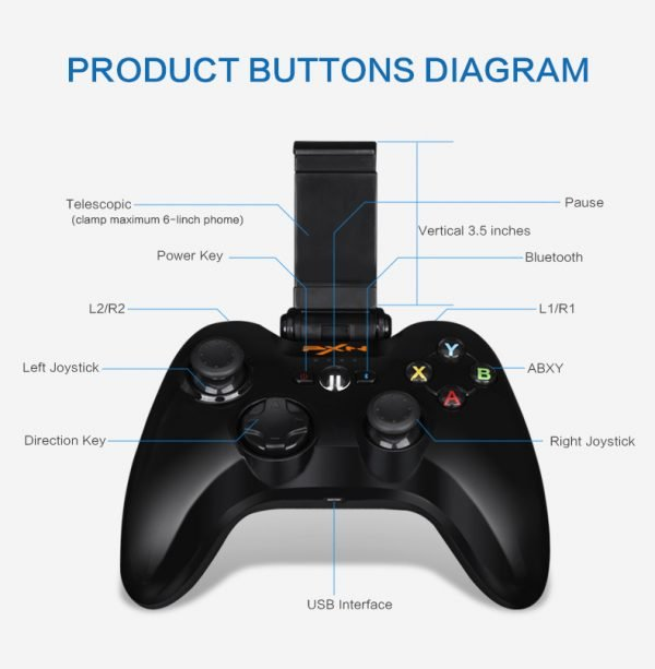 Authorized-MFI-Wireless-Game-Controller-Gamepad