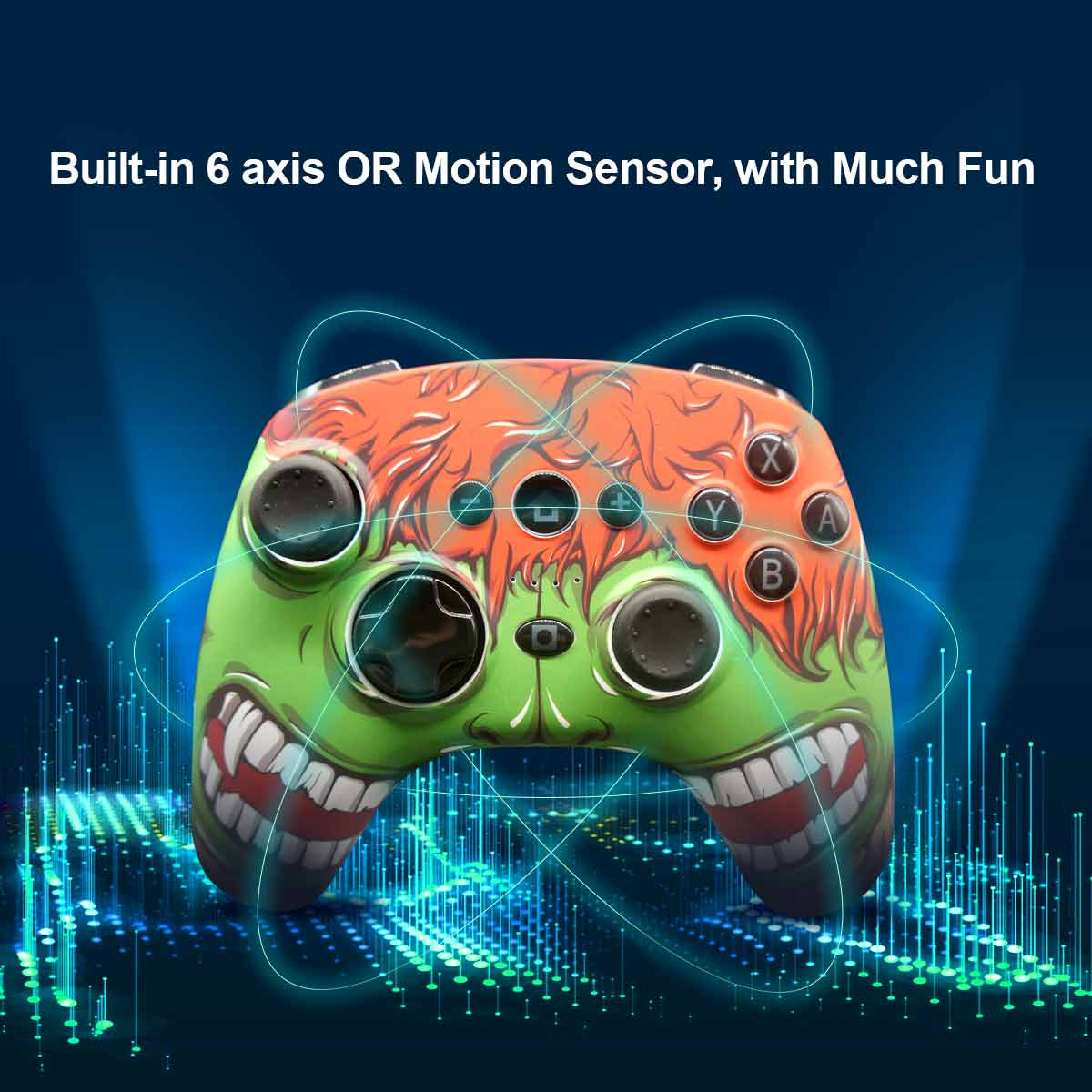 PC Gamepad Compatible with Android mobile and Switch 9628 details