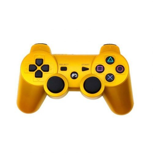 Gcontrollers-Wireless-PS3-Gamepad-Playstation-game-controller-Color-Gold-Age